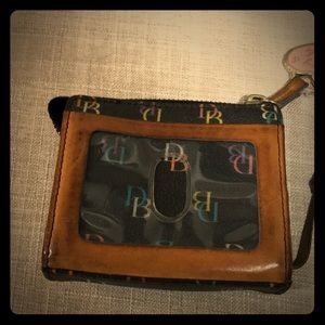 Dooney & Bourke ID/Coin/Card Wallet